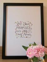 All Your Promises - Print