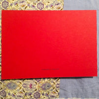 You are Loved Red Postcard with Envelope