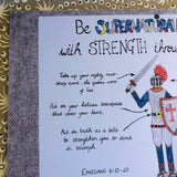 Supernatural Strength (Armour of God)... PRINTABLE