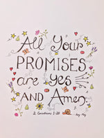 All Your Promises - A4 PRINT