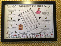 Kingdom Finance... A3 Print