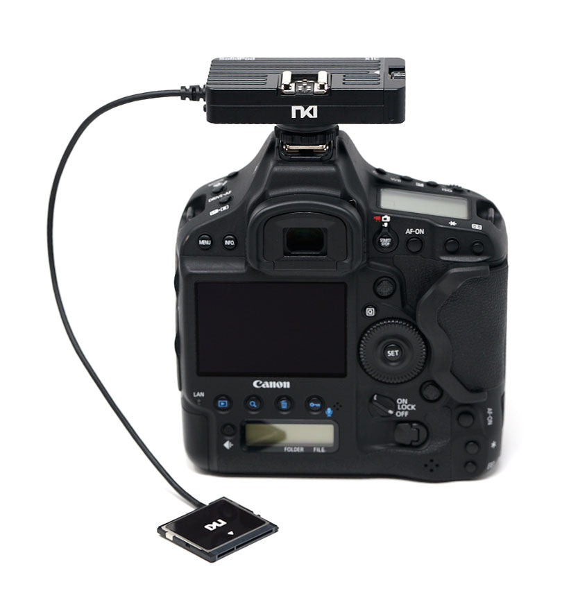 SolidPod X1C CFast 2.0 to mSATA SSD for Canon EOS 1D X Mark II