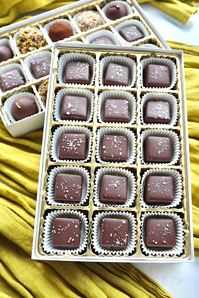 Sea Salt Caramels, 15 pc