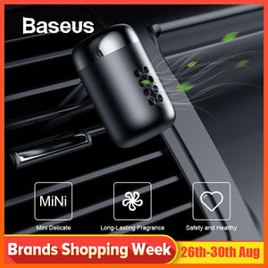 Baseus Aromatherapy Car Air Freshener Auto Air Outlet Perfume Long-lasting Air Freshener Fragrance Clip Diffuser solid perfume
