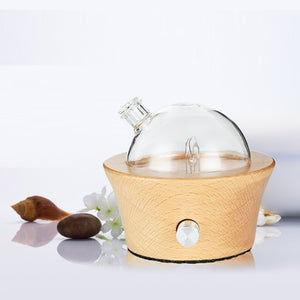 oil diffuser Nebulizer Waterless Aroma Difusor auto wood  glass Aromaterapia aromatherapy  Essential Oils Diffusers night light
