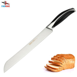 Top Quality stainless steel 7Cr17  8'' inch kitchen bread knife kitchen meat knife
