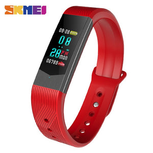 Smartwatch Sport Fitness Tracker Sport Outdoor Smartband Waterproof HeartRate Blood Pressure Bracelet 3D Women Smart Watches