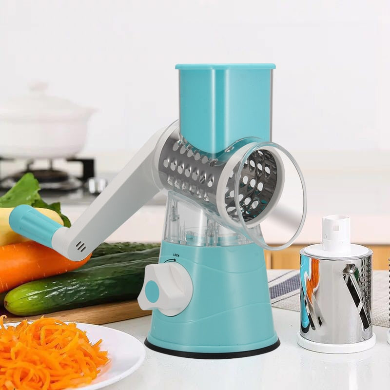 Multi-function Chopper Manual Rotating Grater,slicer Kitchen Gadgets @LS AU14