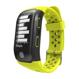696 GPS Activity Tracker Pulsometer Watch Fitness Pedometer Heartrate monitor  IP68 Smart Bracelet