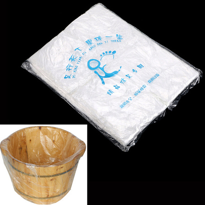 90 Pcs. Environmentally Disposable Foot Tub Liners Bath Basin Bags for Feet Pedicure Spa Skin Care 55*65cm