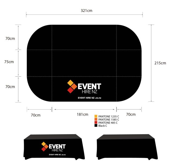 Table Cloths - Branded Event Hire