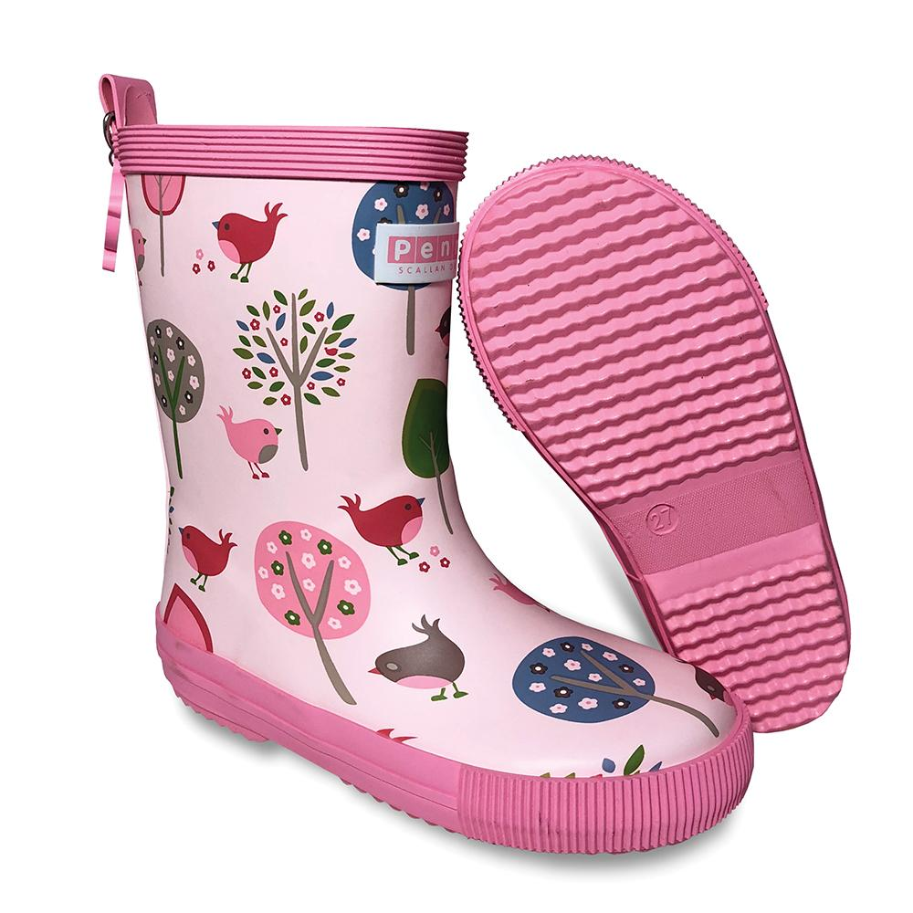 Chirpy Bird Gumboots - Tall