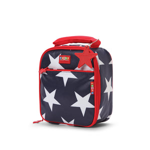 School Lunch Box - Navy Star