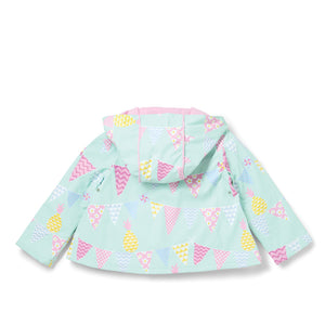 Pineapple Bunting Raincoat