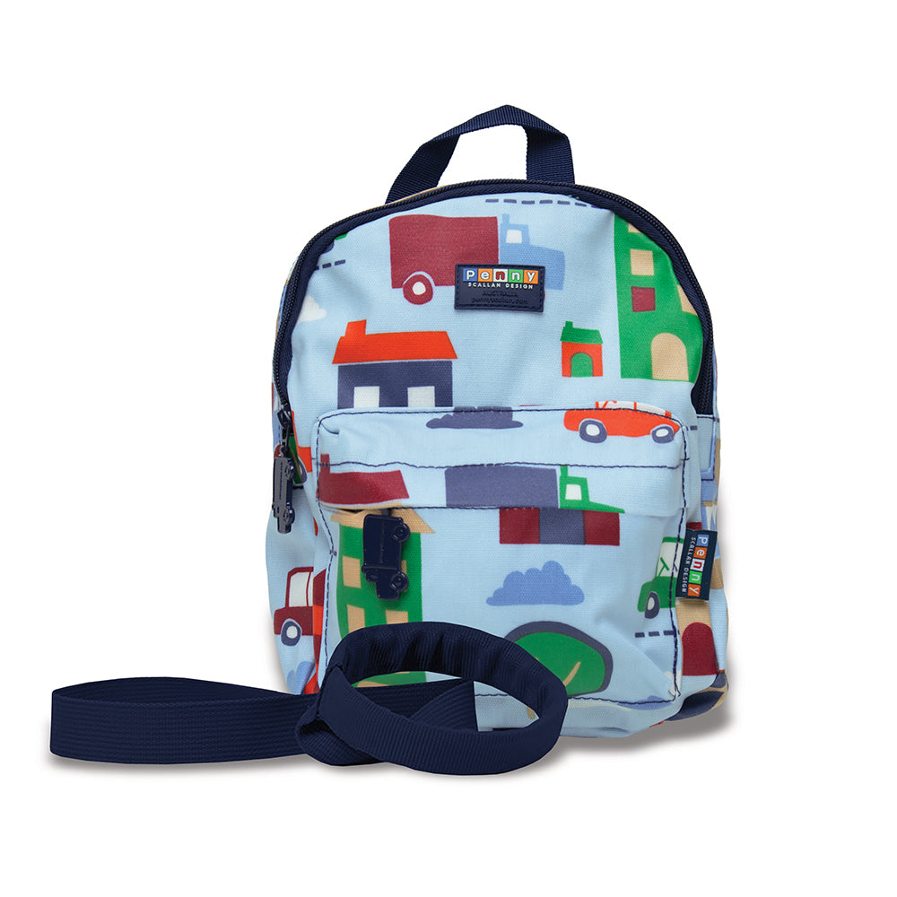 mini backpack with rein designed for kids