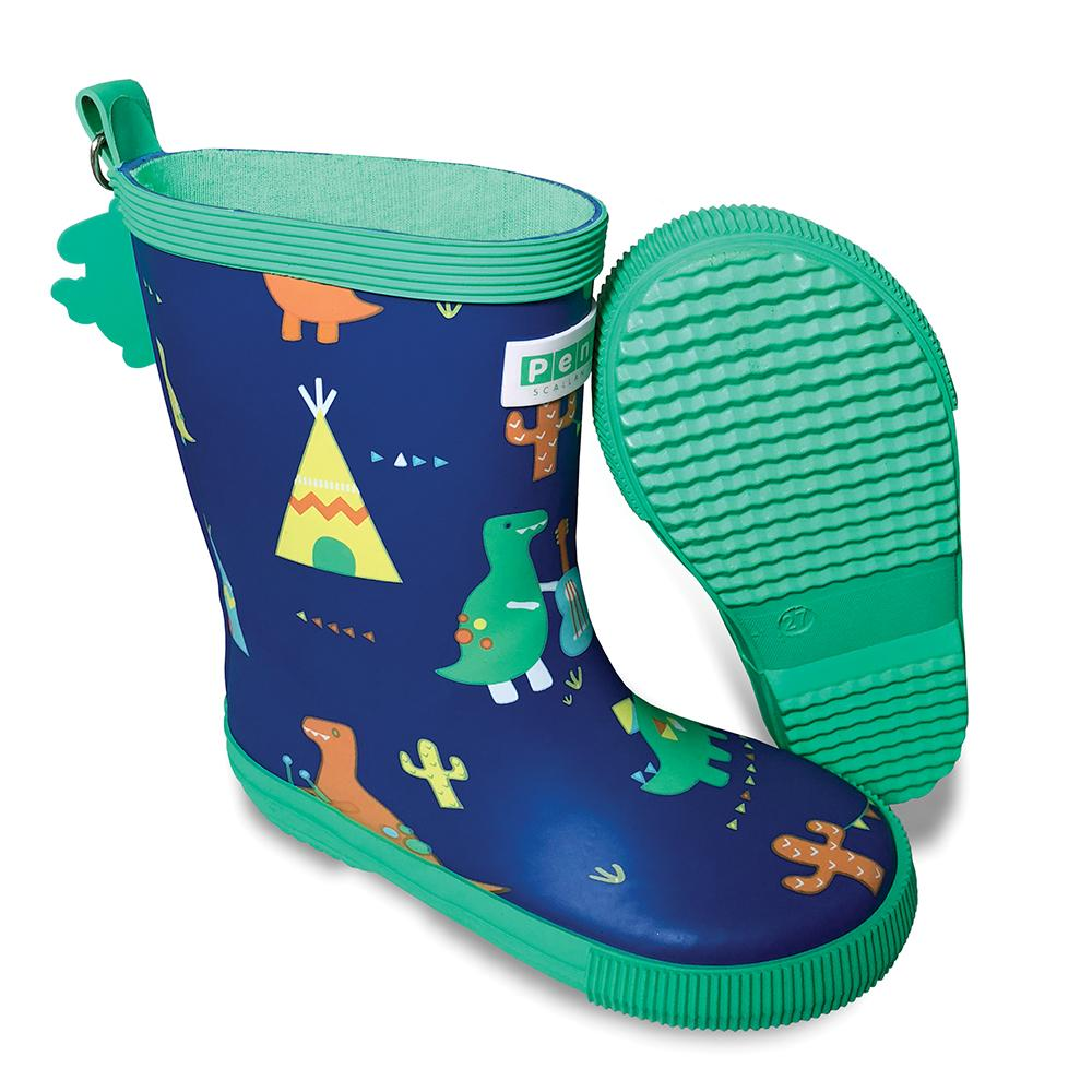 Dino Rock  Gumboots - Tall