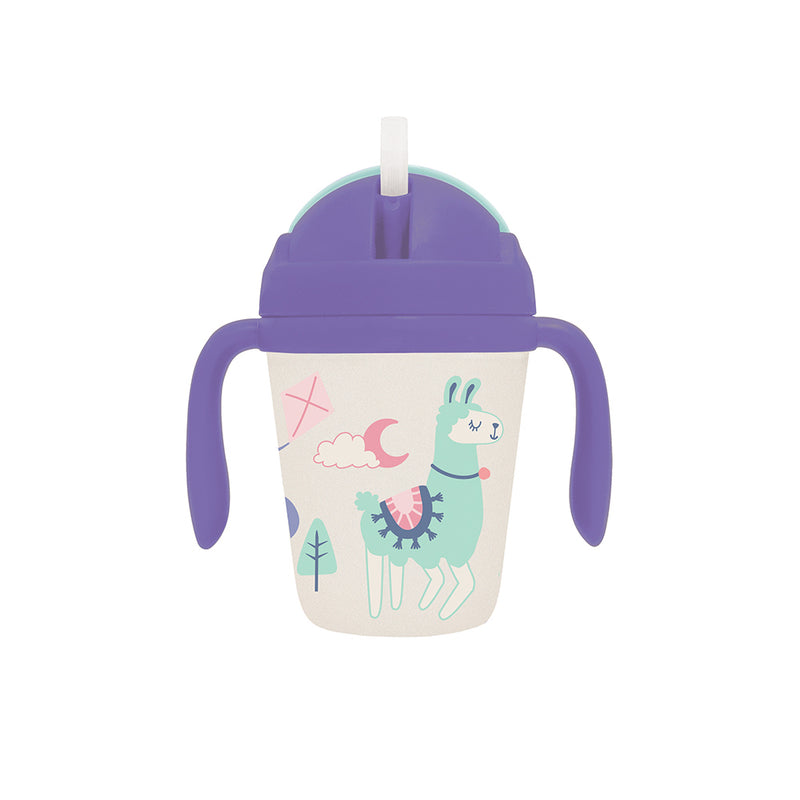 Llama print sippy cup for kids