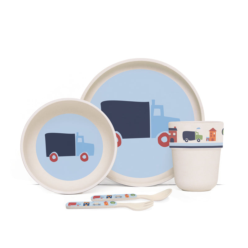 Bamboo Mealtime set for kids