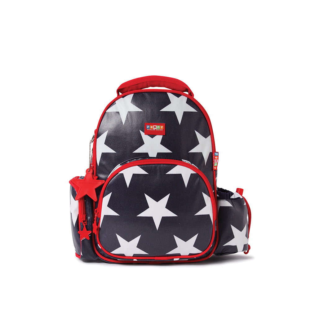 Kids Medium Backpack with City Design