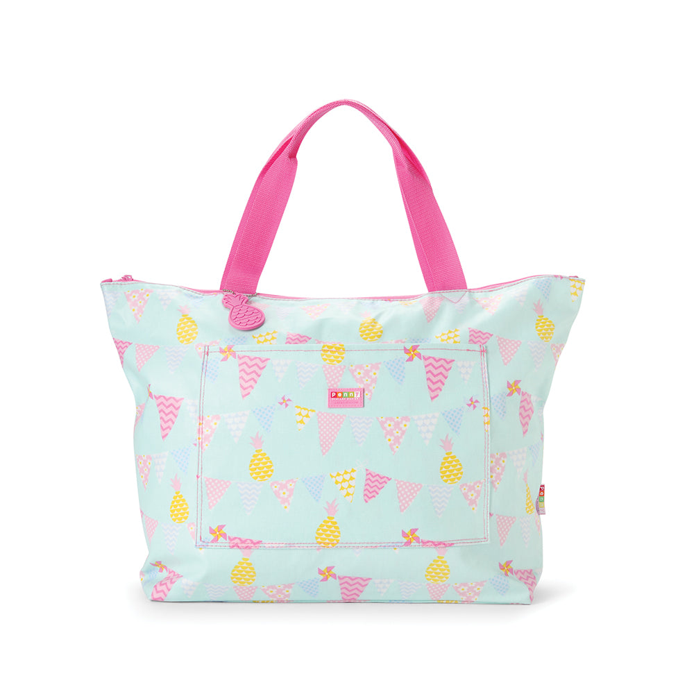Kids Pineapple Print Tote Bag