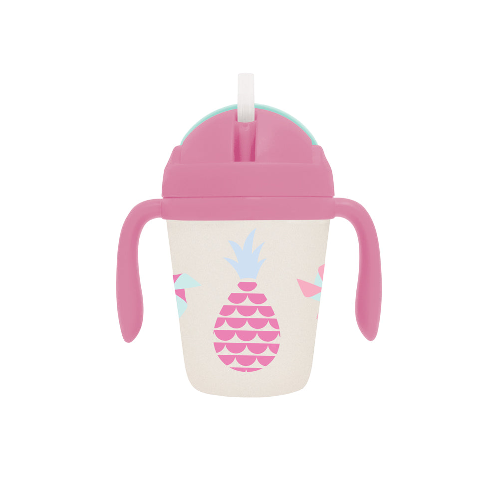 Kids Bamboo sippy cup with fun design