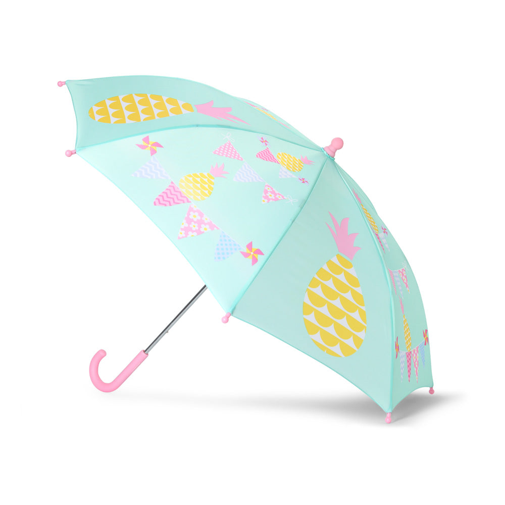 Kids Umbrella with Pinapple Print