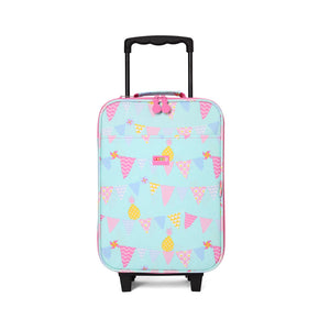 Kids 2 wheel Travel Bag with Pineapple Print