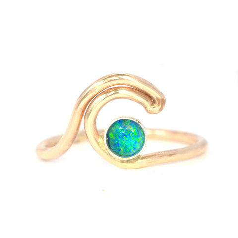 Micro Reef Wave Ring