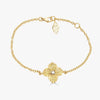 Mosaique Small Flower Bracelet in Yellow Sapphire