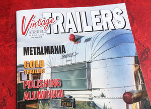 """Field Guide"" authors tapped as regular contributors to Vintage Camper Trailers Magazine."