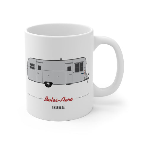 Boles Aero Ensenada (1955), Ceramic Mug - Vintage Trailer Field Guide