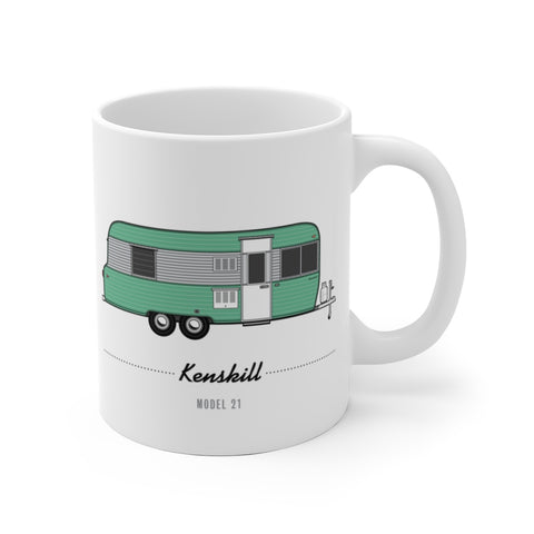 Kenskill Model 21 (1964), Ceramic Mug - Vintage Trailer Field Guide