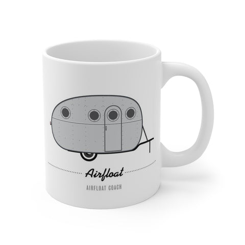 Airfloat Coach (1935), Ceramic Mug - Vintage Trailer Field Guide