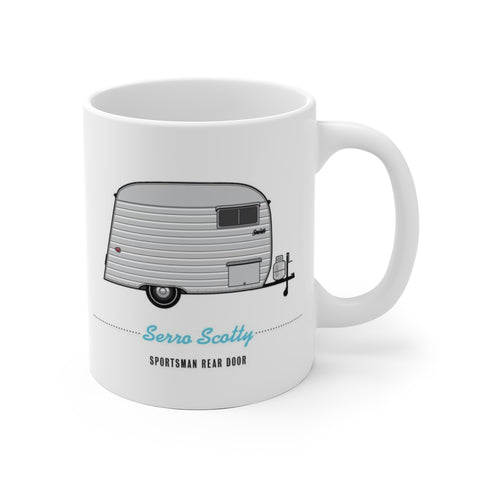 Serro Scotty Sportsman Rear Door. (1959), Ceramic Mug