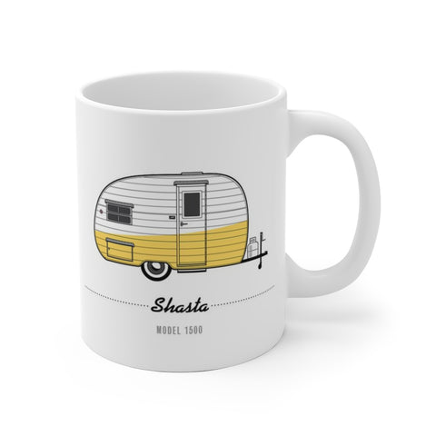 Shasta 1400 (1954), Ceramic Mug - Vintage Trailer Field Guide