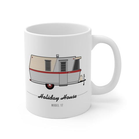 Holiday House Model 17 (1960), Ceramic Mug