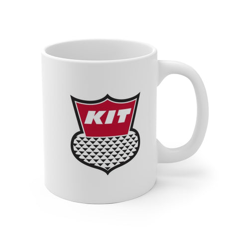 Kit  Shield Logo, Ceramic Mug - Vintage Trailer Field Guide