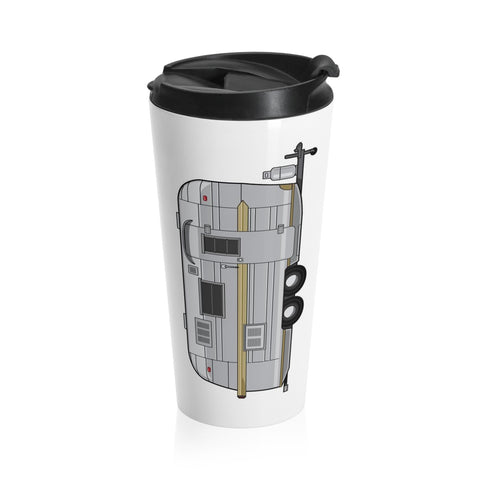 Streamline Prince (Vertical) Stainless Steel Travel Mug - Vintage Trailer Field Guide