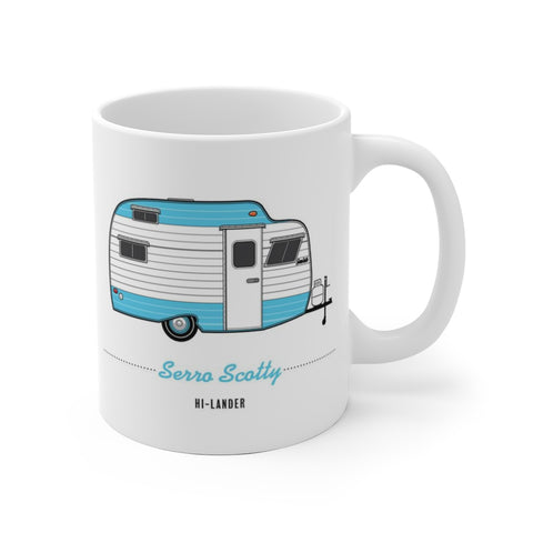 Serro Scotty Hi-Lander (1966), Ceramic Mug - Vintage Trailer Field Guide