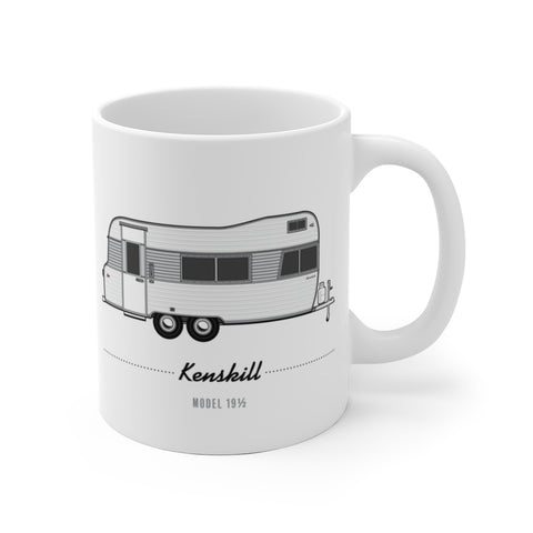 Kenskill Model 19.5 (1967), Ceramic Mug - Vintage Trailer Field Guide
