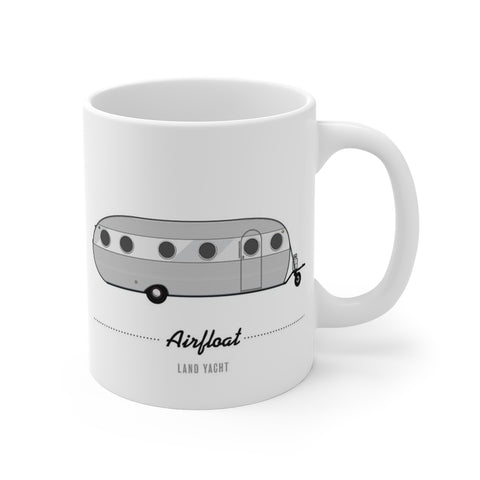 Airfloat Land Yacht (1949), Ceramic Mug - Vintage Trailer Field Guide