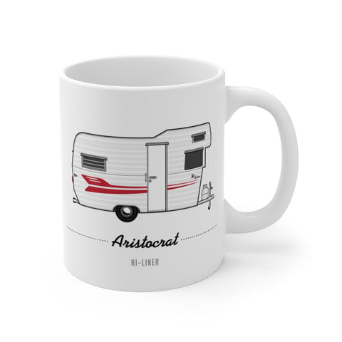 Aristocrat Hi-Liner (1962), Ceramic Mug - Vintage Trailer Field Guide