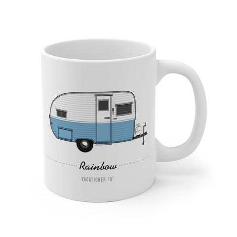 Rainbow Vacationer 15' (1956), Ceramic Mug