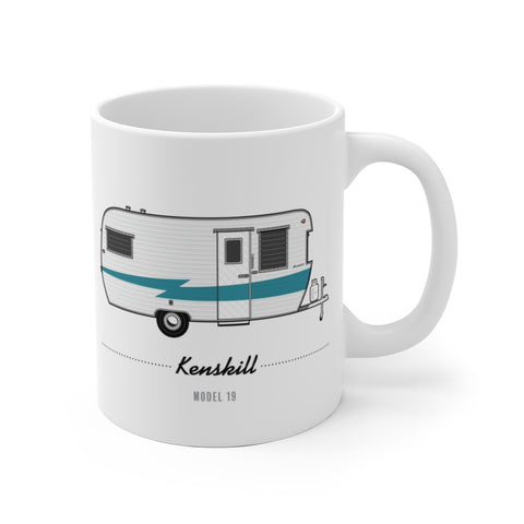Kenskill Model 19 (1959), Ceramic Mug - Vintage Trailer Field Guide