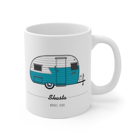 Shasta 1500 (1956), Ceramic Mug - Vintage Trailer Field Guide