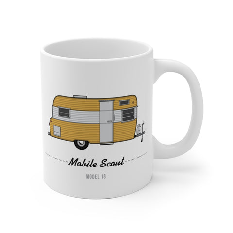 Mobile Scout Model 18 (1966), Ceramic Mug