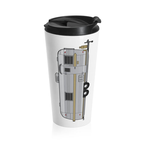 Streamline Countess (Vertical) Stainless Steel Travel Mug - Vintage Trailer Field Guide