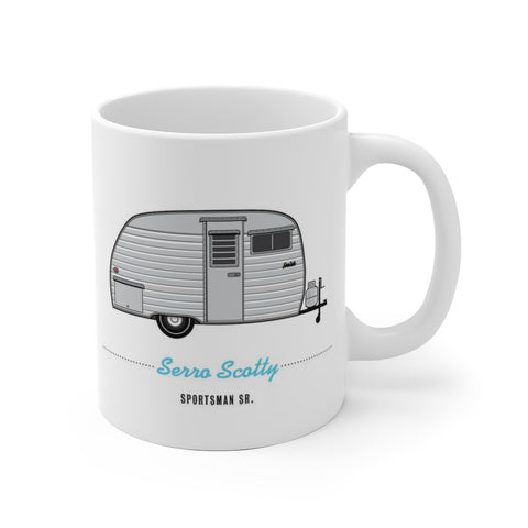 Serro Scotty Sportsman Sr. (1959), Ceramic Mug - Vintage Trailer Field Guide