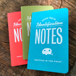 Vintage Trailer Field Notes / 3-Pack - Vintage Trailer Field Guide