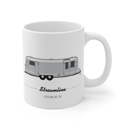 Streamline 28 (1959), Ceramic Mug - Vintage Trailer Field Guide